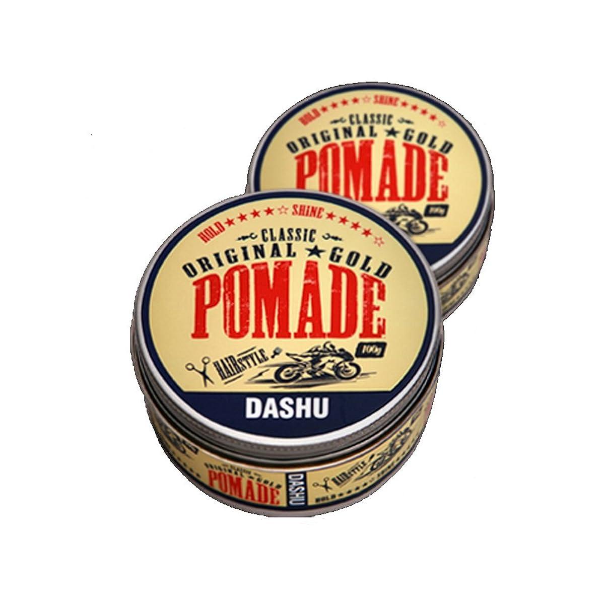 露出度の高い閃光いじめっ子(2個セット) x [DASHU] ダシュ クラシックオリジナルゴールドポマードヘアワックス Classic Original Gold Pomade Hair Wax 100ml / 韓国製 . 韓国直送品
