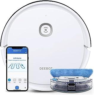 ECOVACS Deebot U2 robot odkurzający i robot myjący, wydajny odkurzacz z funkcją wycierania (systematyczne czyszczenie), ap...