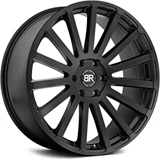 Black Rhino SPEAR Black Wheel with Painted Finish (24 x 10. inches /6 x 139 mm, 25 mm Offset)