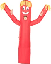 Morph Giant Inflatable Red Wacky Wavy Arm Guy Halloween Costume for Kids