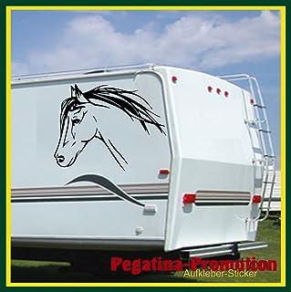 Pferdekopf Auto SUV Fahrzeugkarosserie Fenster Reflektierende Abziehbilder Aufkleber Dekoration Auto Aufkleber