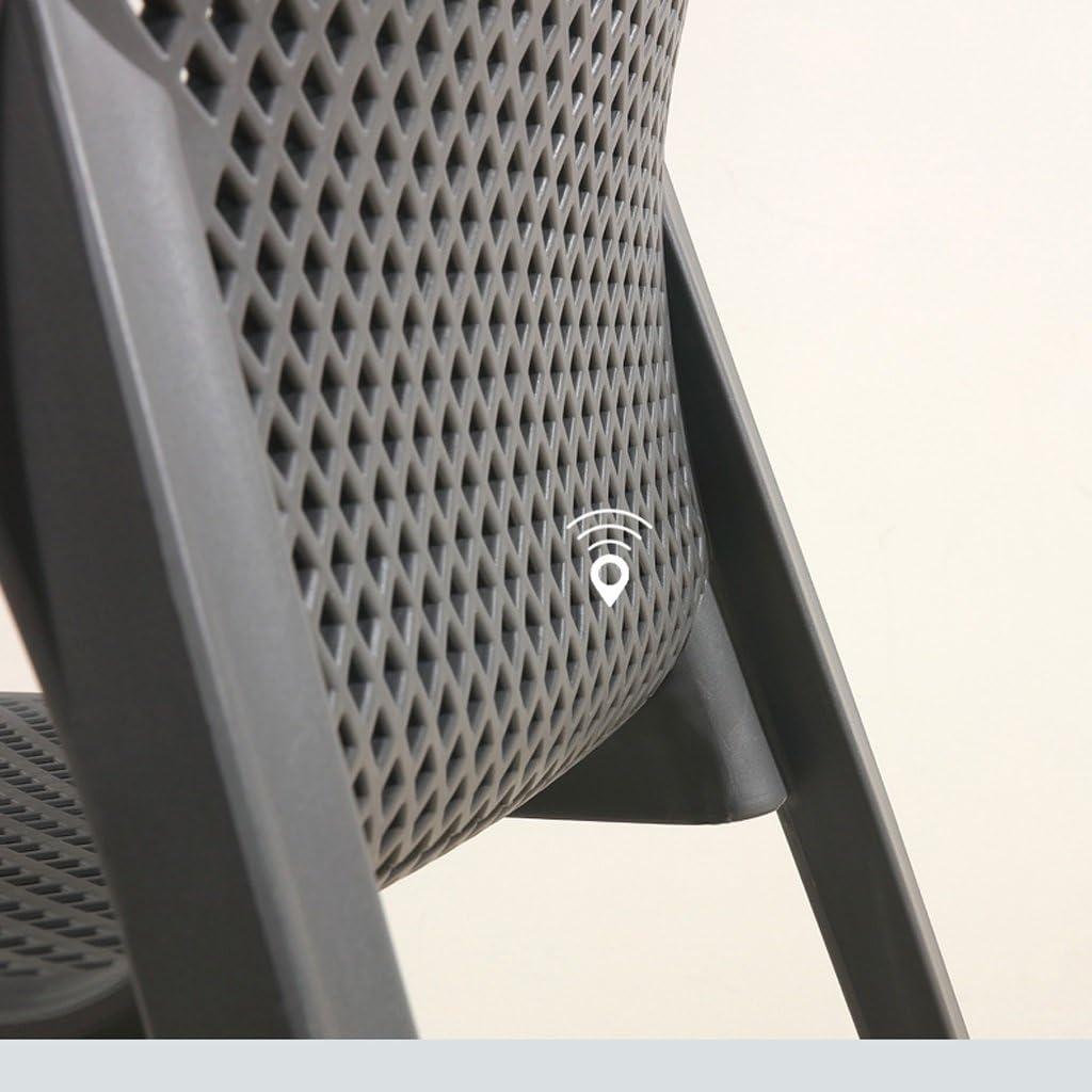 Président WGZ- Chaude Causeuse Chaise Accueil accoudoir Chaise Chaise d'ordinateur en Plastique épais Dossier Chaise Haute Simple (Color : A) A