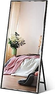 "Full Length Mirror 65""x23.6"" Standing, Wall Hanging, Vertical Black Frame HD.."