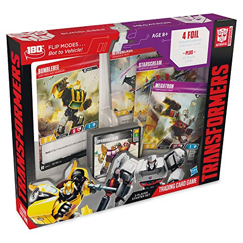 Transformers TCG: Bumblebee Vs. Megatron 2-Player Starter Set | 1 Ready-to-Play Deck | 44 Cards Incl. Bumblebee