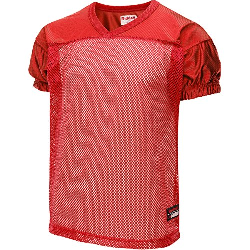 Riddell Football Practice Jersey (X-Small, Red)