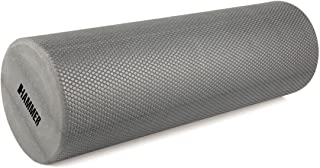 Hammer FaszienRollzienrolle 小巧健身,灰色,长度 45 厘米,直径 15 厘米