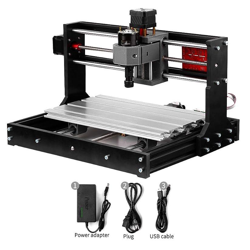 ビジョンピストル文明化Rakuby CNCルータキット CNC 3018 Pro GRBL 彫刻機 CNCウッドルーター 3軸 ミニフライス盤 製粉機 加工機