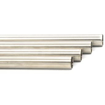 0.065 Wall 7//8 OD 0.81 ID Stainless Steel 316L Seamless Welded Round Tube//Pipe//Rod