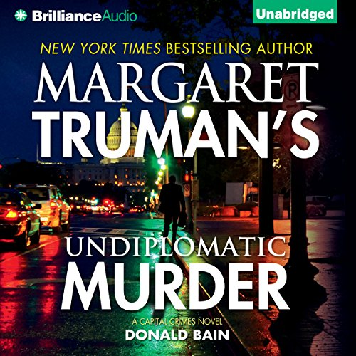 Undiplomatic Murder audiobook cover art