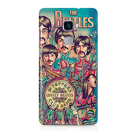 The Beatles Lonely Hearts - Carcasa para Huawei Mate S (3 mm), diseño de corazones