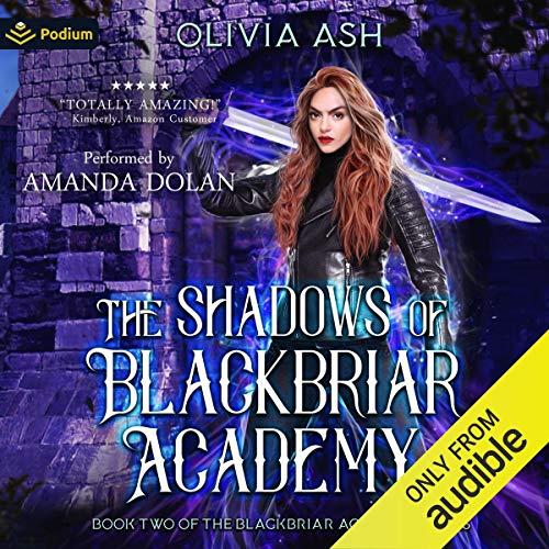 The Shadows of Blackbriar Academy cover art
