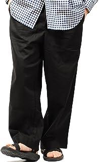 リ.エーピー (Re-AP) コットンリネン ワイドパンツ ワイド パンツ 綿麻 メンズ