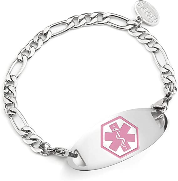 Lilac Jade Medical IDInterchangeable BraceletMedical Tag NOT INCLUDED