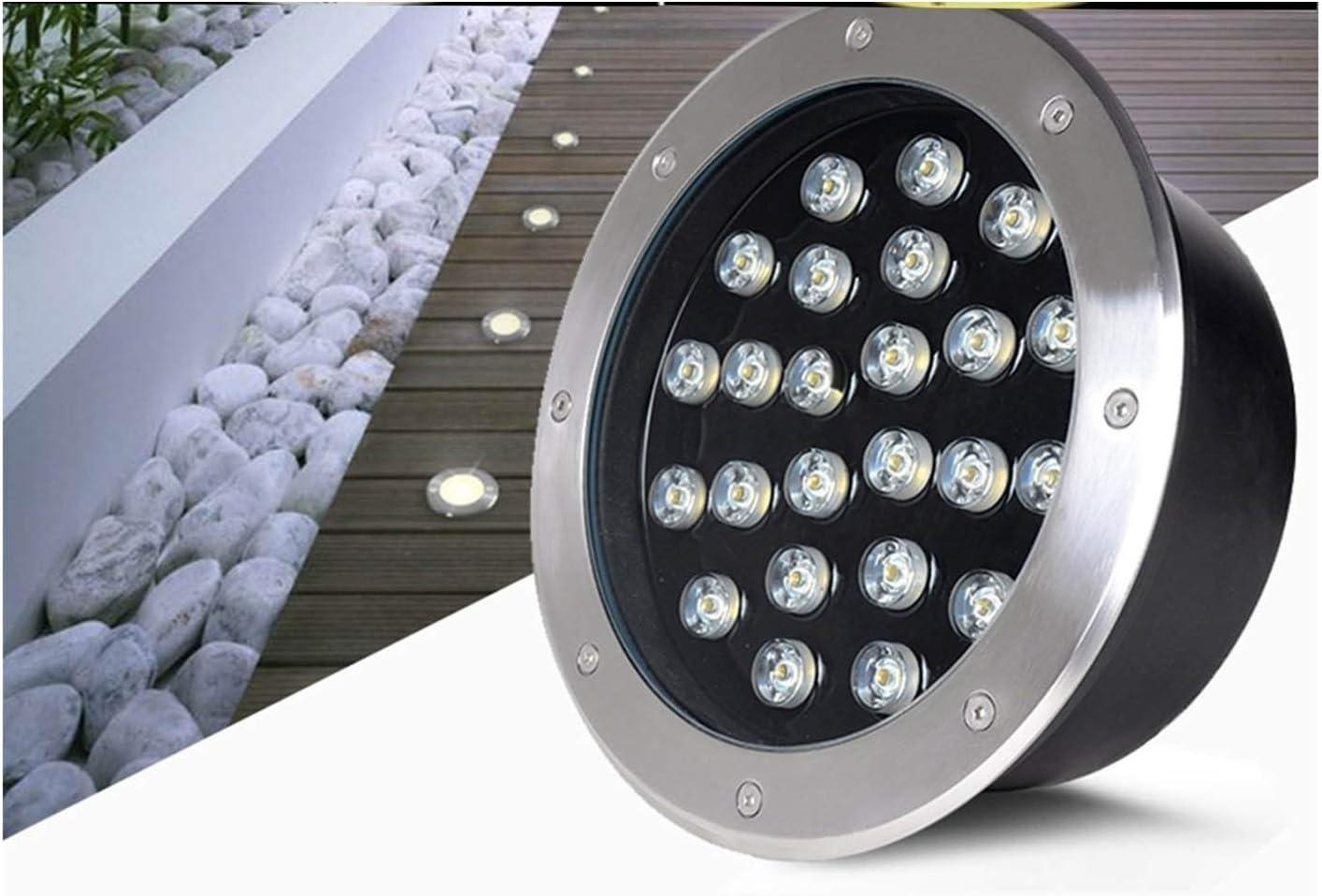 ZWYSL LED Low Ground Light Underground OFFer Thin L trust Inground Led