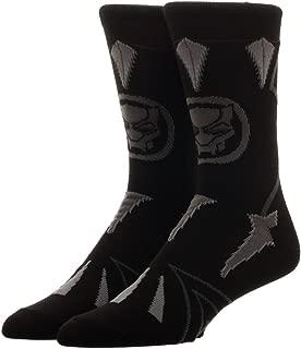 Bioworld Marvel Black Panther Suit Up Crew Sock