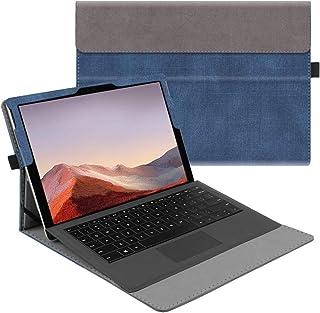 جراب Fintie لهاتف Microsoft Surface Pro 7 / Pro 6 / Pro 5 / Pro 4 / Pro 3 12. 3 بوصات - غطاء عمل محفظة عرض متعددة الزوايا ...