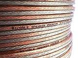 Ricable Custom 1.5/20-20 Metros 2 x 1,5 mmq Cable Hi-Fi de Cobre OFC para Altavoces