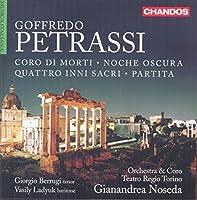 Goffredo Petrassi: Choral & Orchestral Works by Orchestra Teatro Regio Torino