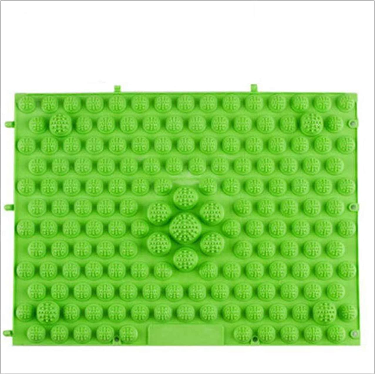 自己尊重サドルなしでウォークマット 裏板セット(ABS樹脂製補強板付き) (グリーン)
