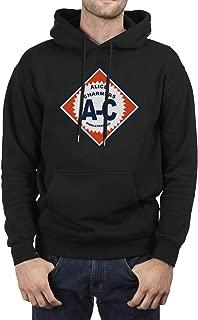TablincoT Men's Casual Pullover Hoodie Regular Fit Long Sleeve Hooded Sweatshirt with Pockets-Car Symbol