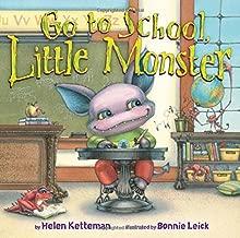 5 little monsters go to school
