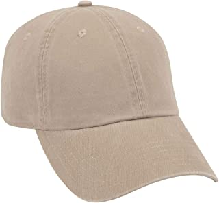 Garment Washed Superior Combed Cotton Twill 6 Panel Low Profile Dad Hat