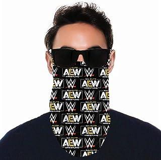 BremaBear AEW All Out Neck Gaiter Scarf Men Women Face Bandana Elastic Cover for Masks