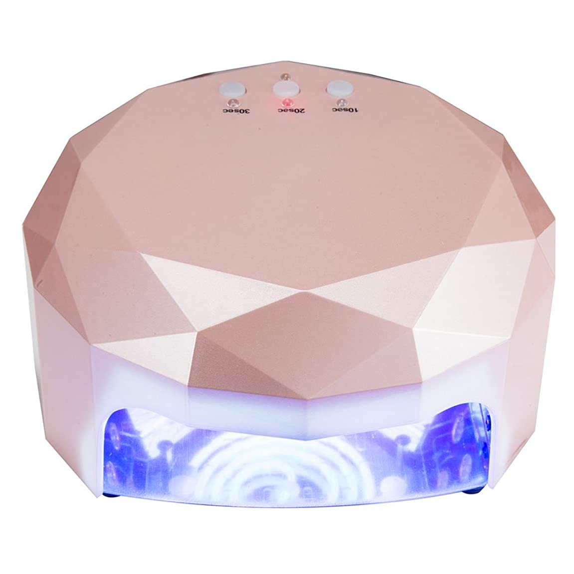 パーティー文明アルカトラズ島ネイル光線療法機 ネイルドライヤー-48w LEDネイル光線療法装置誘導光線療法ネイルマシンネイルドライヤー