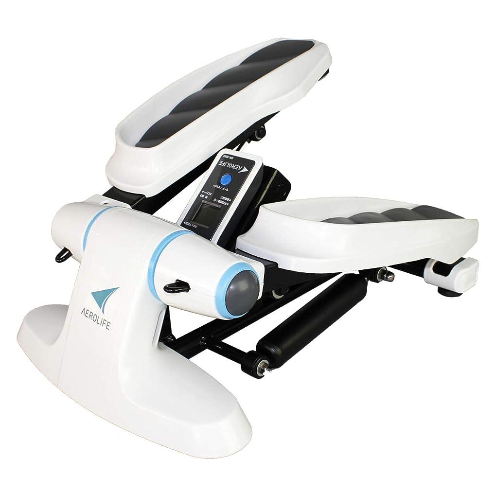 衝突する緯度パワーDR-3890 エアロライフ ストレッチステッパー 有酸素運動 ダイエット 全身運動