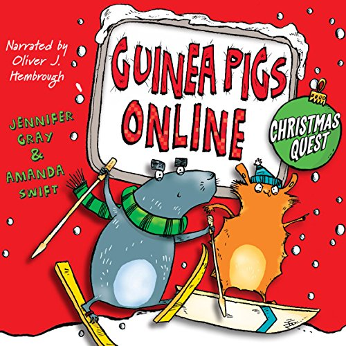 Christmas Quest audiobook cover art