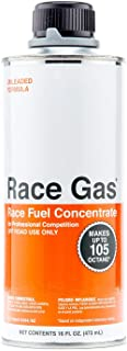 RaceGas 100016 Premium Race Fuel Concentrate Increases Gasoline Up to 105 Octan (1)
