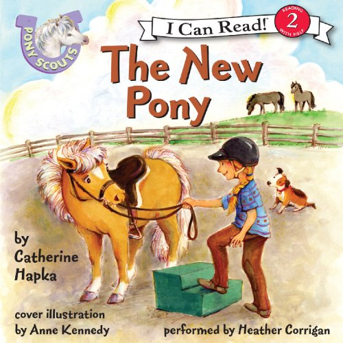 The New Pony audiobook cover art
