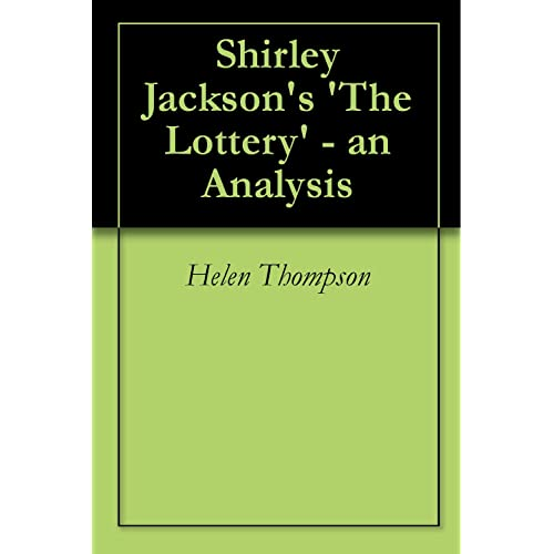 Essay Proposal Outline Shirley Jacksons The Lottery  An Analysis Proposal Essay Examples also Learn English Essay The Lottery Shirley Jackson Amazoncom Essay Writing Examples English