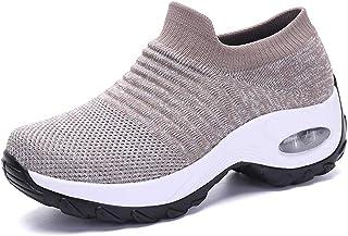 DEBAIJIA Donna Scarpe Sportive Invernali Corsa Casual Calda Traspiranti Foderato di Pelliccia Sneaker