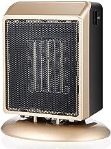 Calefactor Auxiliar Espacio Personal PTC Calentador Cerámica Estufa Radiador Eléctrico Invierno Mini Caliente Del Viento Del Ventilador De Calefacción Para Seguridad Del Dormitorio 110/220V,Oro