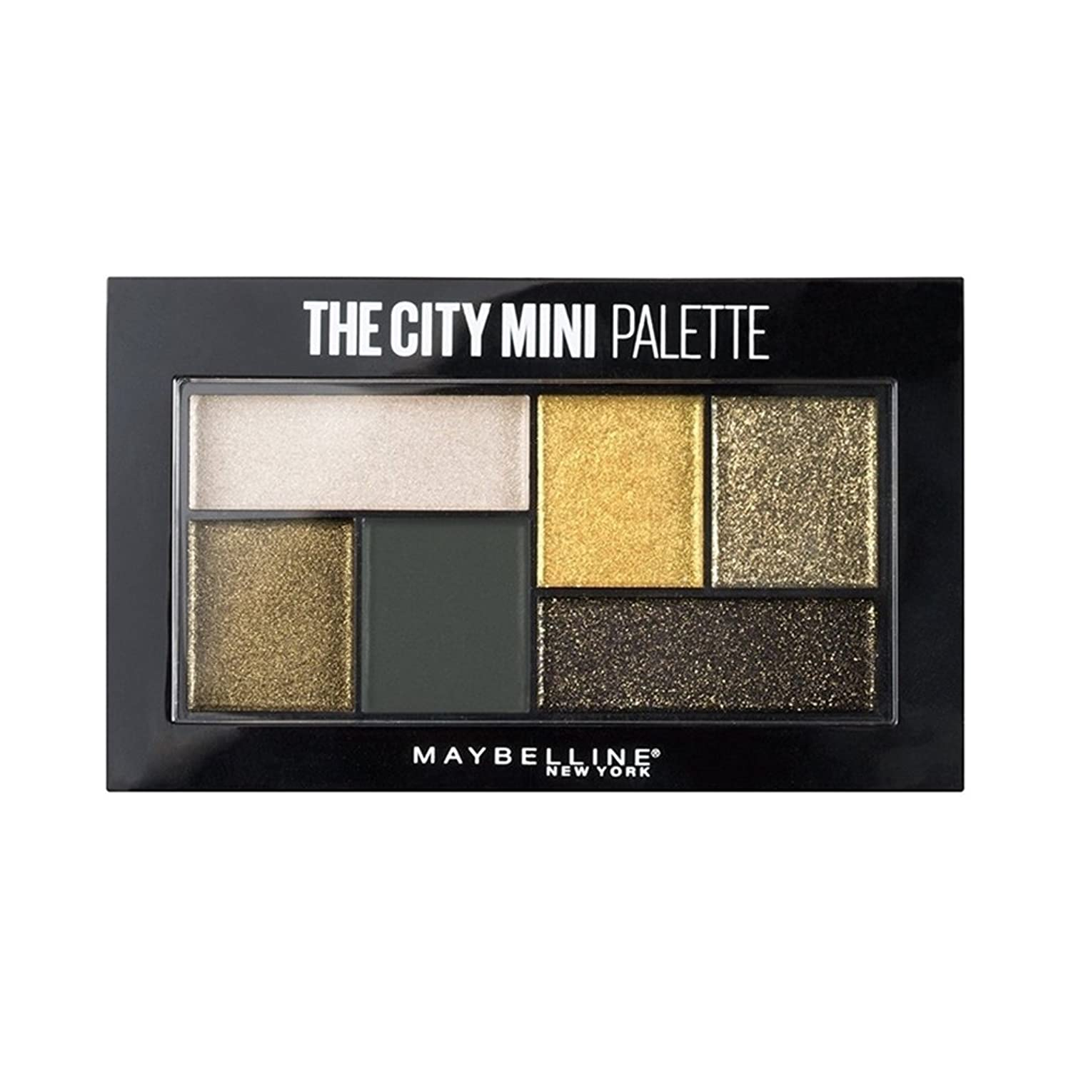 バスケットボール四面体緑(6 Pack) MAYBELLINE The City Mini Palette - Urban Jungle (並行輸入品)