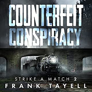 Counterfeit Conspiracy audiobook cover art