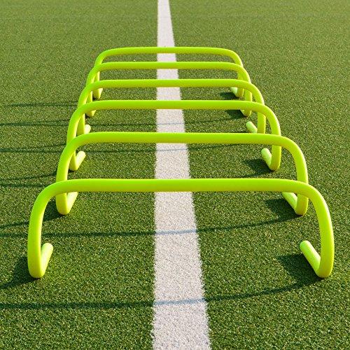 "Agility Hurdles - set of 6-6 inch [Net World] (6"" Hurdles (pack of 6))"