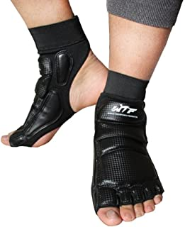 Lorsoul Taekwondo Foot Protector Gear Martial Arts Fight Feet Guard Ankle Support for Men Women Kids Boxing Kicking Punch ...