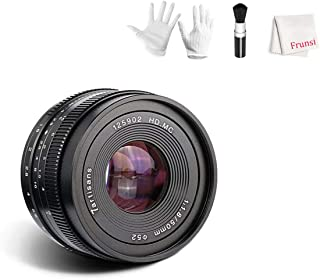 7artisans Aluminum Body 50mm F1.8 APS-C Manual Focus Lens Widely Fit for Compact Mirrorless Cameras Canon M1 M2 M3 M5 M6 M10 EOS-M Mount
