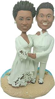 Coppia lesbica Personalizza Topper torta nuziale Personalizza Topper torta nuziale Lesbica Topper matrimonio lesbica Gay T...
