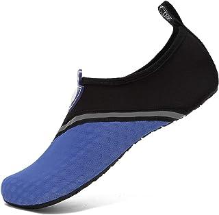 KUDOON Chaussures Aquatique deau Hommes Femmes Alpinisme Sports Piscine Yoga Respirants S/échage Plage Surf Plong/ée