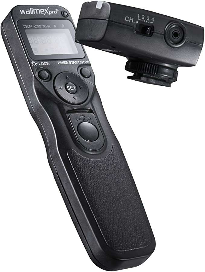 Walimex Digitaler Timer Funkfernauslöser Nikon N3 Für Kamera
