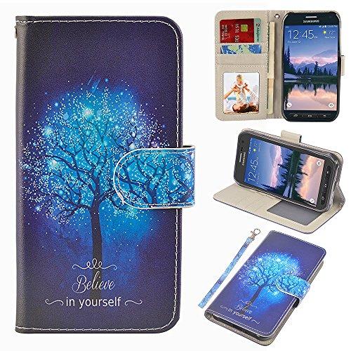 UrSpeedtekLive S6 Active Case, Galaxy S6 Active Wallet Case, Premium...