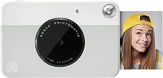 Kodak PRINTOMATIC Digital Instant Print Camera (Grey), Full Color Prints On ZINK 2x3