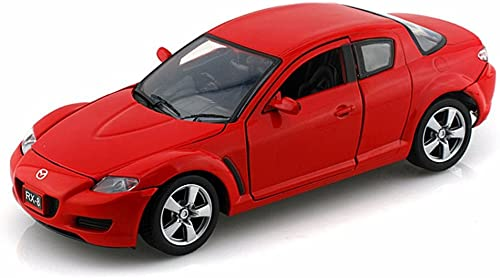 Mazda RX-8 rouge 1 24 by Motormax 73323 by Motormax