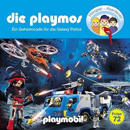 Ein Geheimcode für die Galaxy Police. Das Original Playmobil Hörspiel cover art