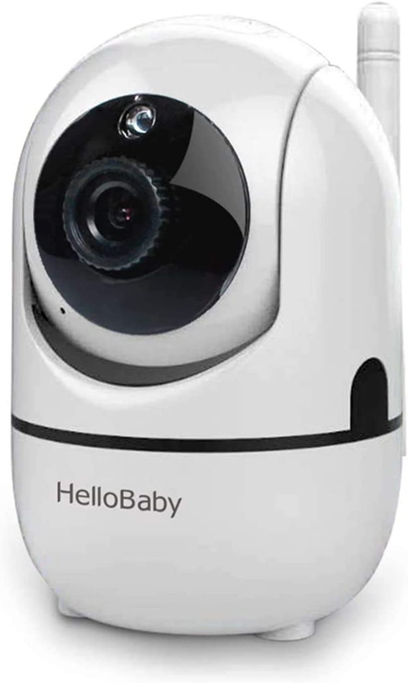 Additional Camera for HelloBaby Video Baby Monitor HB65 HB248(Black)