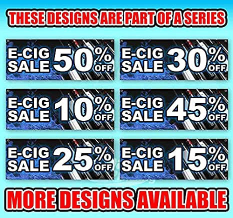 E-Cig Sale 65/% Off 13 oz Banner Heavy-Duty Vinyl Single-Sided with Metal Grommets