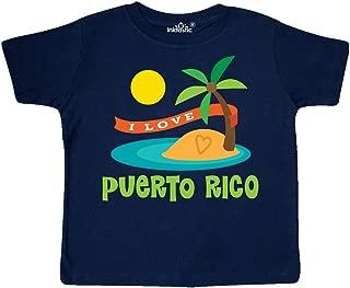 I Love Puerto Rico Toddler T-Shirt